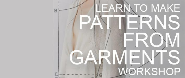 Patterns from Garments workshop
