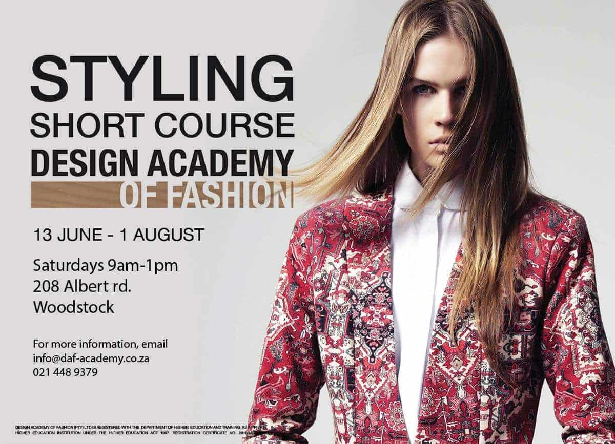 Styling Course Design Academy Of Fashion
