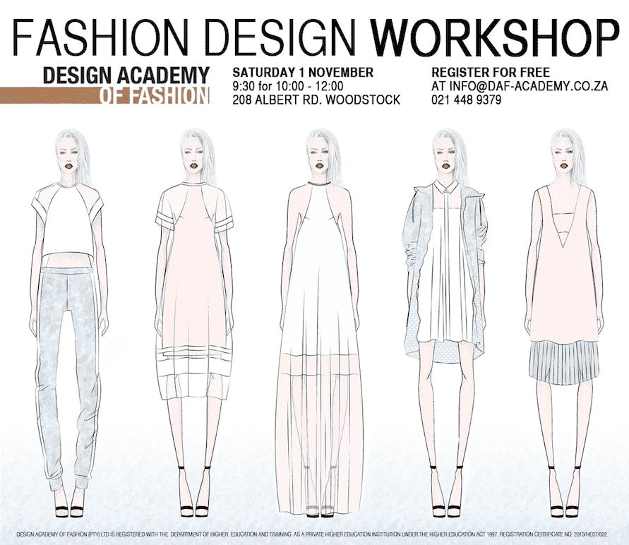 Free Fashion Design Workshop At Daf Design Academy Of Fashion