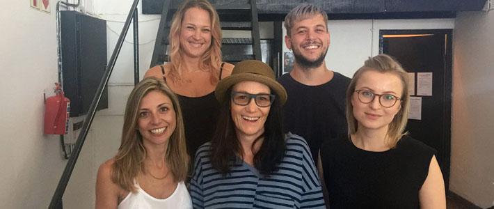 Amanda Laird Cherry visits DAF